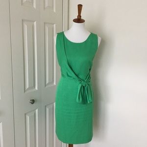 Front tie sheath dress from The Limited